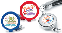 Shop our Healthcare Food Service appreciation badges and id holders, retractable id holders