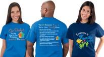 Nursing home staff appreciation apparel gifts. Nursing home staff recognition apparel products