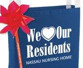 Nursing home staff appreciation personalized gifts. Nursing home staff recognition products, add your personal message or company logo