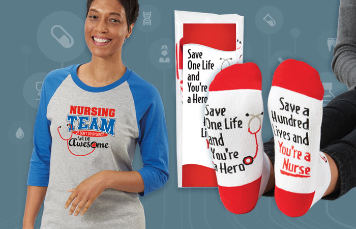 Nurses Recognition and Appreciation Apparel Gifts