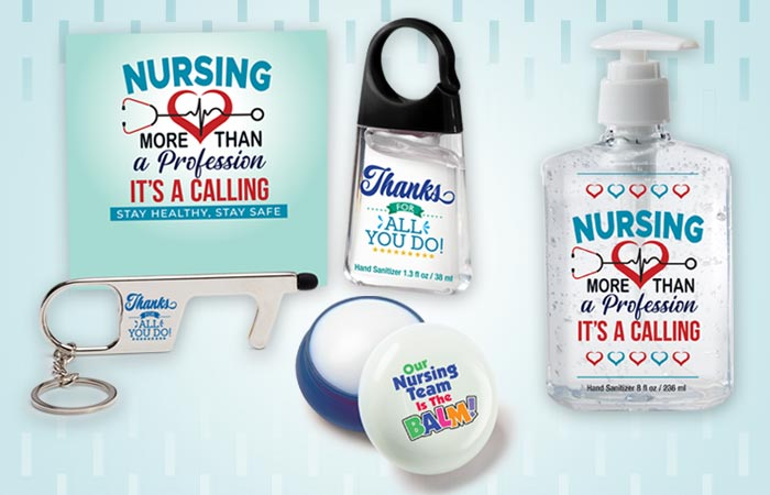 Nurses Recognition and appreciation Personal Care and Protection Gifts