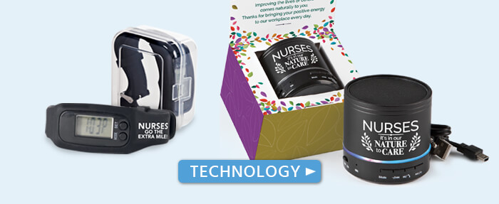 nurses appreciation technology gifts, nurses recognition technology gifts. nurses usb car charges, stylus pens, cell phone pouches and cases, nurses technology accessories gifts