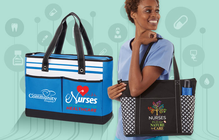 Nurses Tote bags gifts of Recognition and Appreciation