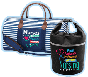 Nurses and nursing assistants bags gifts