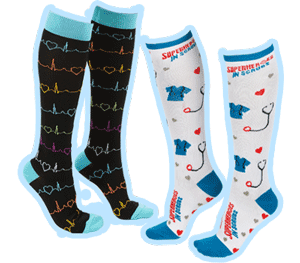 Nurses and nursing assistants socks gifts