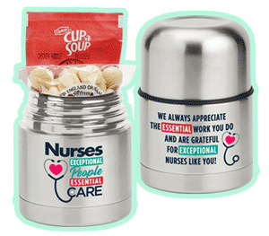 Nurses and nursing assistants lunch gift sets