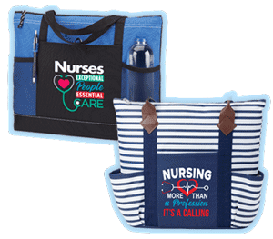 Nurses and nursing assistants tote bags gifts