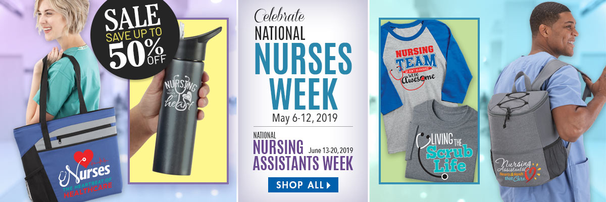 Celebrate Nurses Week. Nurses Appreciation and Recognition Gifts