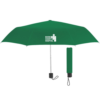 42 inches Arc Telescopic Umbrella with 100% rPET Canopy - Personalization Available