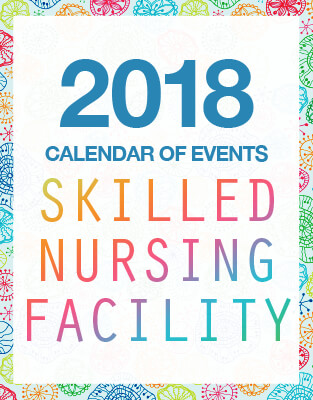 Skilled Nursing Facility 2018 Calendar Of Events PDF