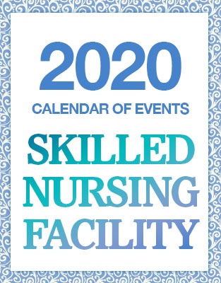 Skilled Nursing Facility 2019 Calendar Of Events PDF