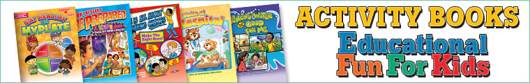 Activity Books - Educational Fun for Kids | Positive Promotions
