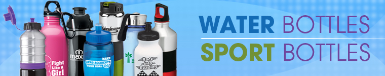 Water Bottles from Positive Promotions