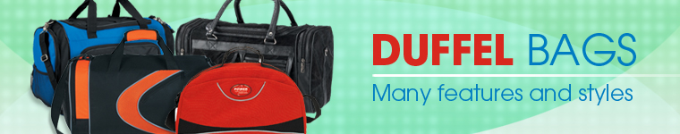 Duffel Bags from Positive Promotions
