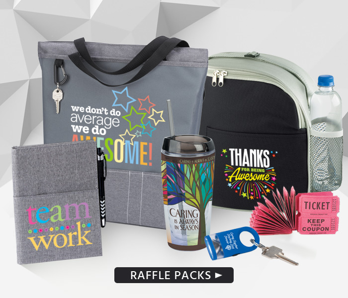 Our Employee Recognition Raffle Packs can make your recognition events even more exciting than ever!