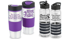 Shop all of our physical therapy recognition and rehab awareness Drinkware gifts, including tumblers & water bottles.
