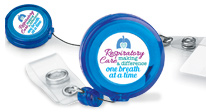 respiratory staff badge holders recognition gifts. Appreciate your respiratory team by celebrating their efforts with our badge holders