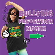 Bullying prevention month products