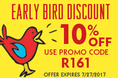 Early Bird promotion, save 10% off on all red ribbon and bully prevention products. Use promo code at checkout