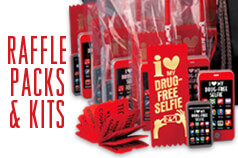 Make Red Ribbon exciting Red Ribbon & Bully Prevention Kits & Raffle Packs