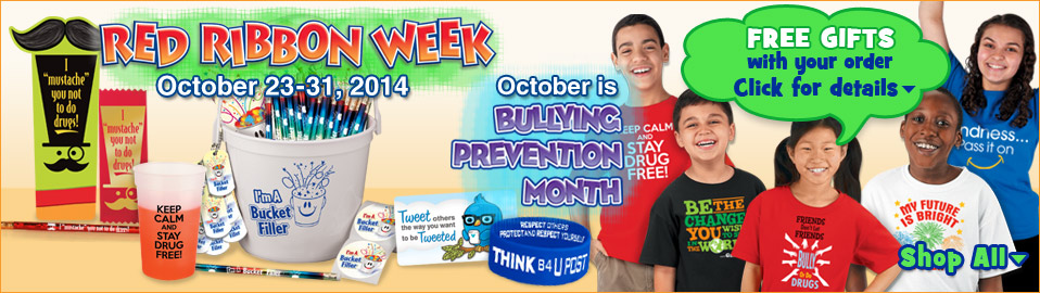 red ribbon week, drug prevention