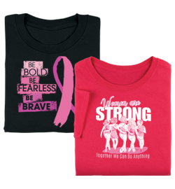 Pink is the official color for breast cancer awareness. This October, create an environment that celebrates it!
