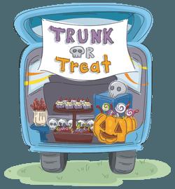 Trunk Treat Car