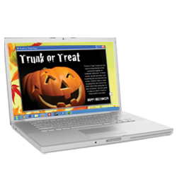 Trunk Treat Laptop