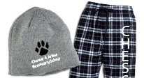 Click here to see our custom imprinted Pants & Hats