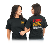 School drivers and staff would be proud to wear these terrific t-shirts