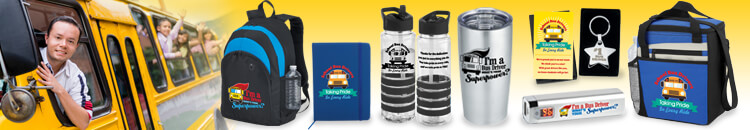 Thank your school bus drivers and staff. School bus driver and staff recognition gifts. School bus driver and staff appreciation gifts.