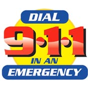 Dial 911 In An Emergency Theme from Positive Promotions