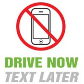 Drive Now Text Later Theme from Positive Promotions