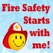 Fire Safety Starts With Me Theme from Positive Promotions