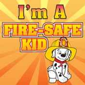 I'm A Fire Safe Kid Theme from Positive Promotions