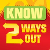 Know 2 Ways Out Theme from Positive Promotions