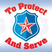 To Protect And Serve Theme from Positive Promotions