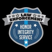 Law Enforcement Honor Integrity Service Theme from Positive Promotions