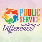 Public Service Making A Difference Theme from Positive Promotions