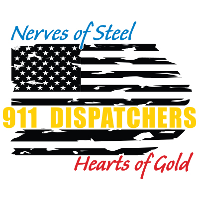 911 Dispatchers Nerves Of Steel Hearts Of Gold Theme from Positive Promotions