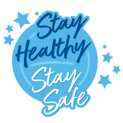 Stay Healthy And Stay Safe Theme from Positive Promotions