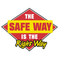 The Safe Way Is The Right Way Theme from Positive Promotions