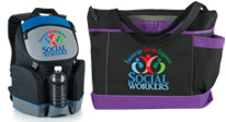 shop social work appreciation and recognition bags and coolers