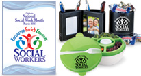 shop social work appreciation and recognition accessories and decorations including umbrellas, posters, blankets and more