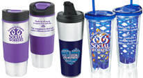 shop social work appreciation and recognition drinkware including fruit infuser, water bottles and tumblers