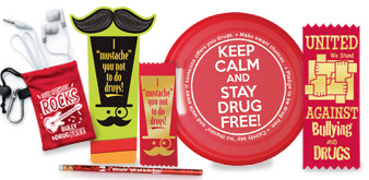 Promote a drug-free environment at your school during Red Ribbon Week October 23-31, 2014.