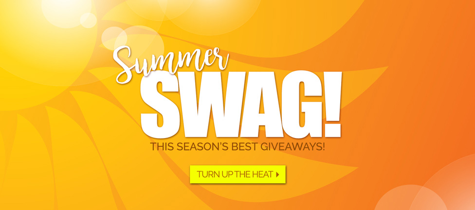 Events and outings. Summer SWAG products