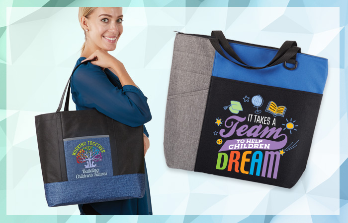 Shop our lunch bags, totes and more for teachers & staff appreciation