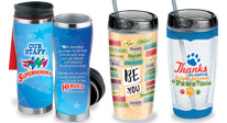 Click to see our drinkware products for teachers & staff appreciation.