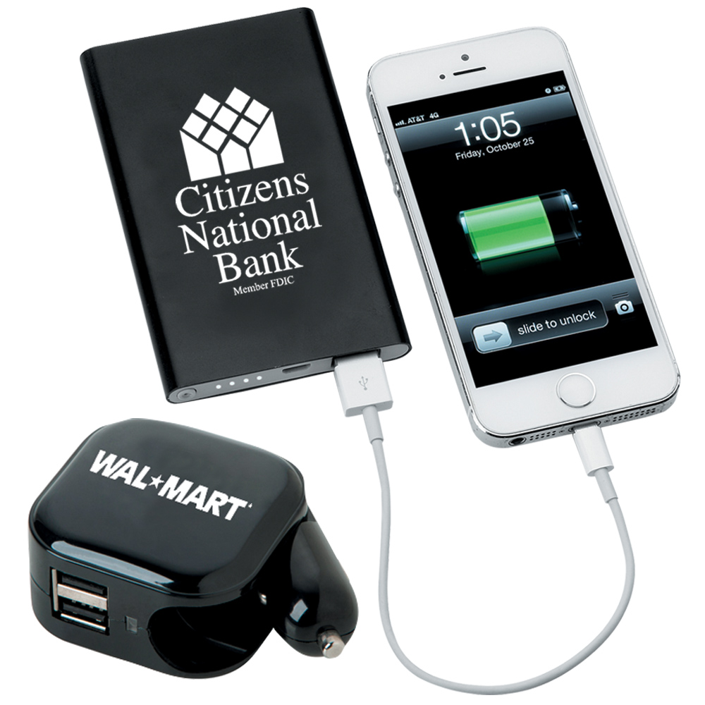 Shop all personalized custom power banks & chargers